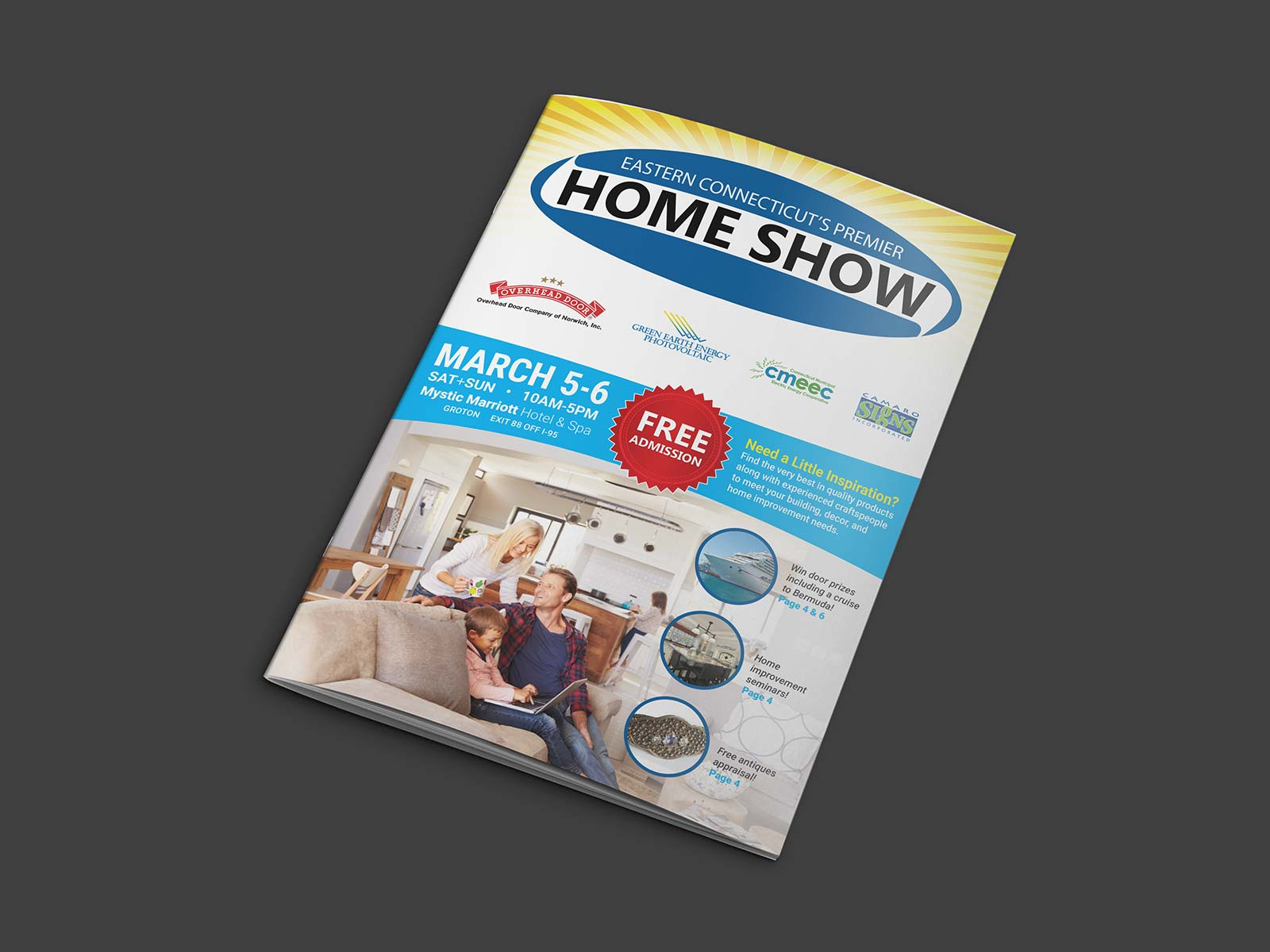 Home Show program booklet cover