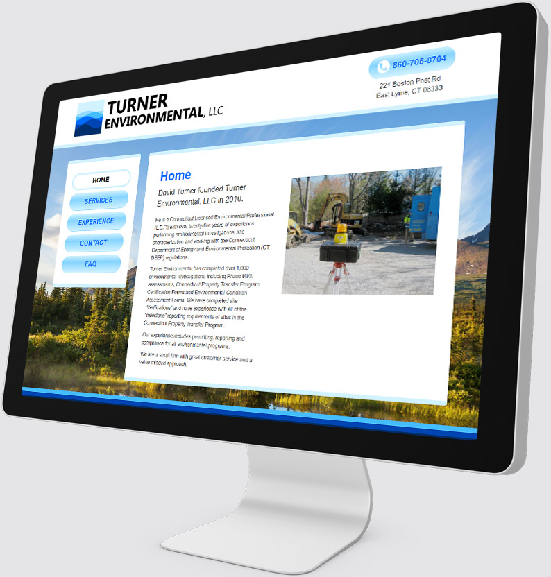 Turner Environmental Desktop Website