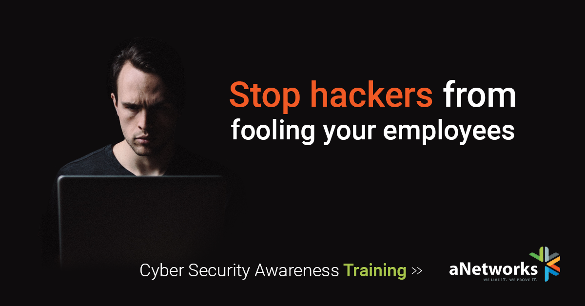 Advertisement to Stop Hackers from fooling employees